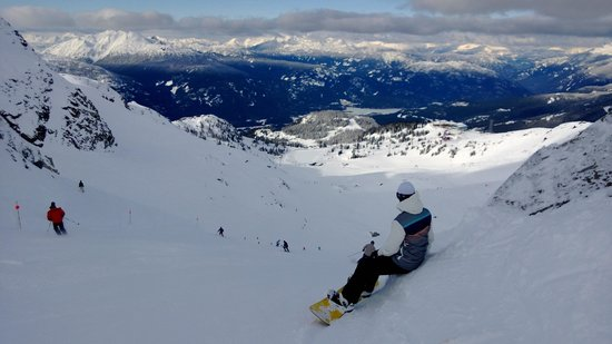 The Westin Resort & Spa, Whistler: View from the Saddle, Whistler Peak