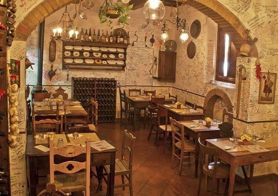 ristorante rustico a casa tua certaldo picture of