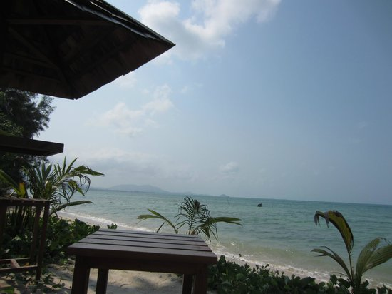 Mai Samui Resort & Spa:                   View from the beach