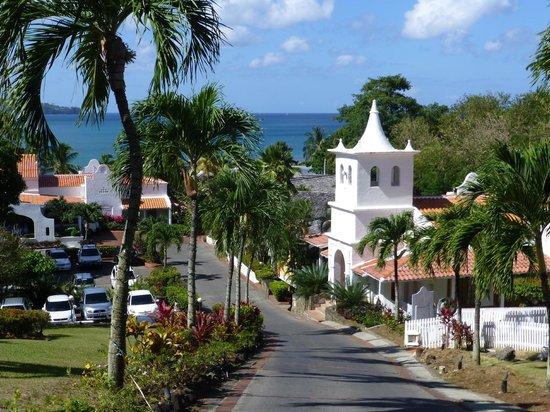 Windjammer Landing Villa Beach Resort : Reception area