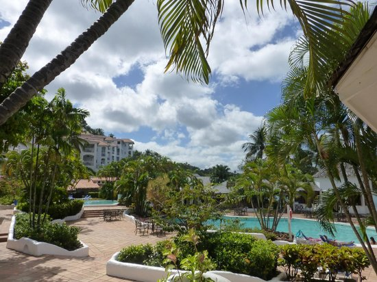 Windjammer Landing Villa Beach Resort: Vista