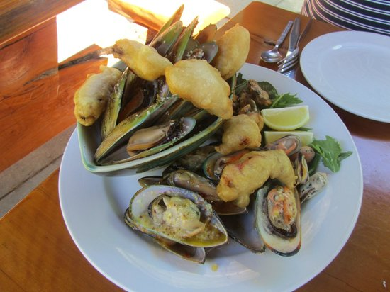The Mussel Pot:                   Mussel sampler