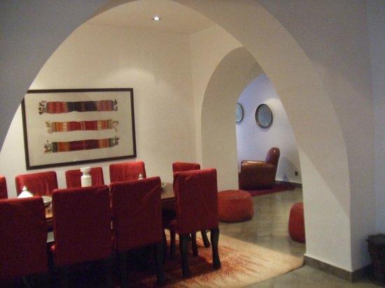 Le Nid:                                     salle a manger