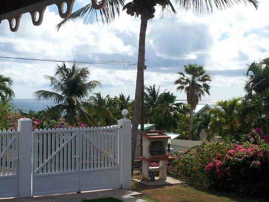 Residence Cocody:                   Vista dal bungalow