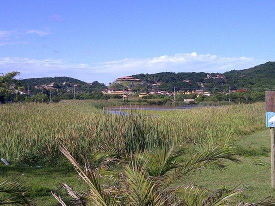 Barra da Lagoa Hotel:                   lago