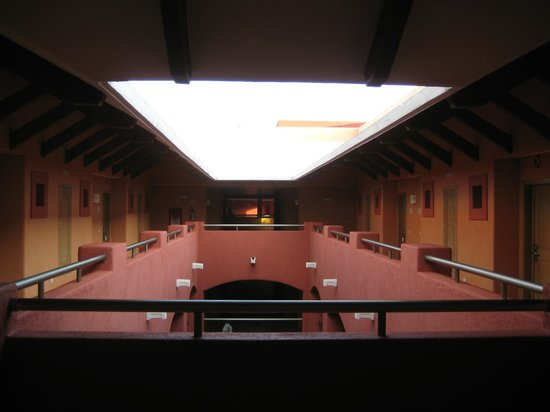 Barcelo Maya Tropical:                   inside Veracruz building