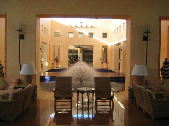 Barcelo Maya Tropical:                   lobby fountains