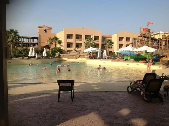 Coral Sea Aqua Club Resort:                   The wave pool.