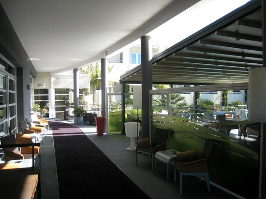 Hotel La Fauceille: entrance