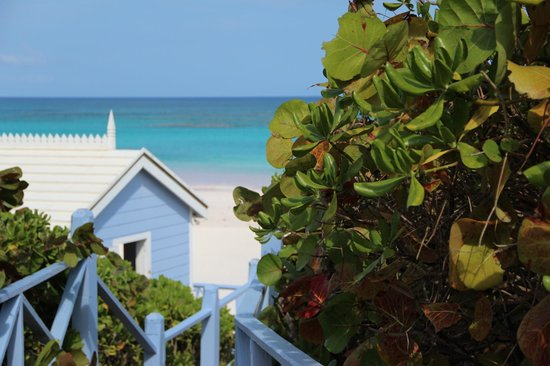 Pink Sands Resort:                                     vers la plage