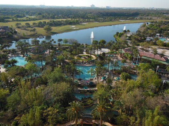 JW Marriott Orlando, Grande Lakes:                   View from Room