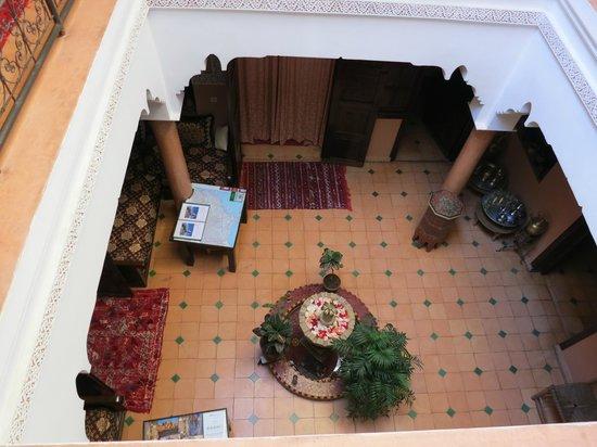 Dar Al Hamra : Inner courtyard