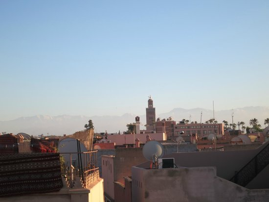 Dar Al Hamra : View from the roof top