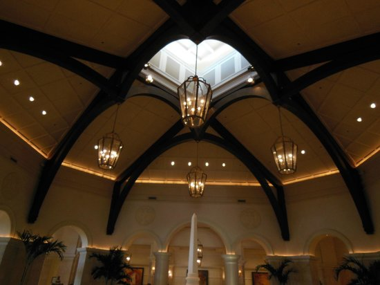 JW Marriott Orlando, Grande Lakes:                   Dome in Lobby