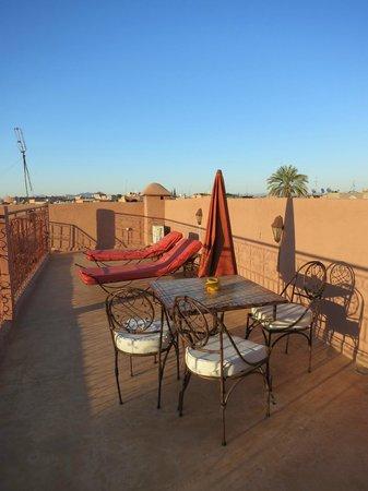 Dar Al Hamra: Sunshine roof