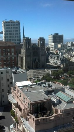 InterContinental Mark Hopkins San Francisco:                   View from Room