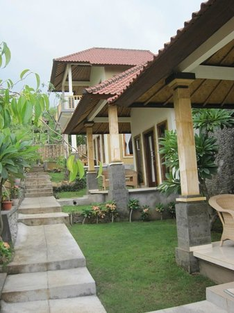 Barong Cafe Bungalow and Restaurant:                   Blick nach oben