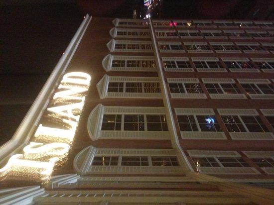 Treasure Island - TI Hotel & Casino :                   View from the 35th floor.