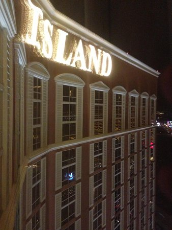 Treasure Island - TI Hotel & Casino:                   View from the 35th floor.
