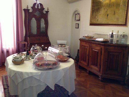 Ca' Angeli: Buffet du petit- déjeuner