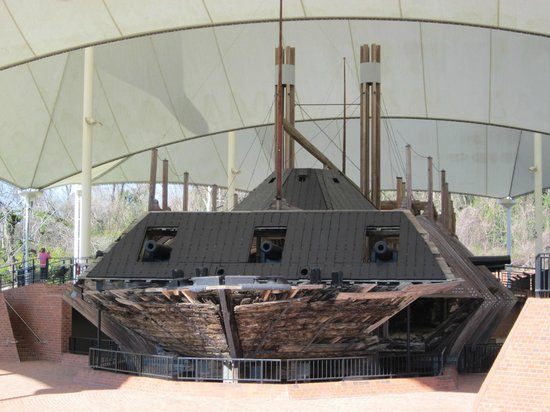 Vicksburg National Military Park:                   USS Cairo restoration at Vicksburg