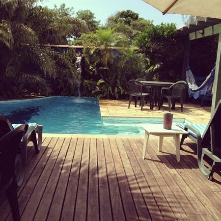 Pousada Chez Wadi:                   piscina