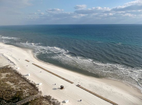 Wyndham Vacation Resorts Panama City Beach:                   View from our balcony