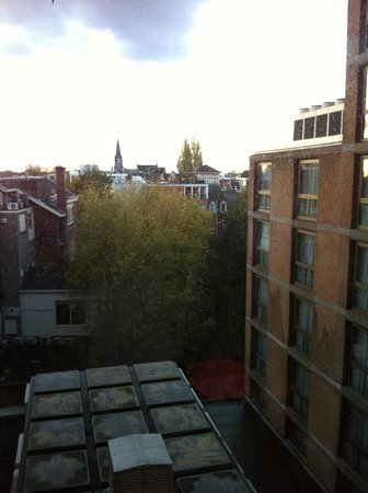 Marriott Amsterdam:                   Nice AMS view