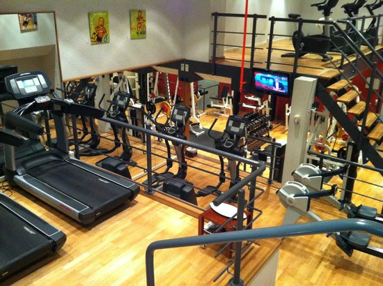 Amsterdam Marriott Hotel:                   Nicely equipped 24/7 gym