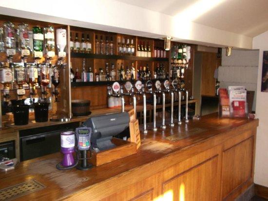Premier Inn Bagshot Hotel: The Bar,Premier Inn Bagshot/Cricketers.