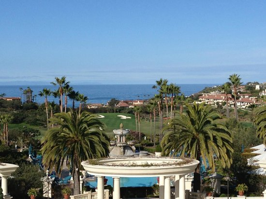 Monarch Beach Resort:                   view from a verandah