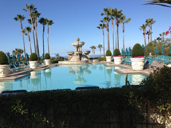 Monarch Beach Resort:                   Main pool