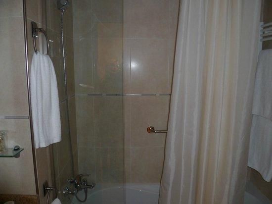 Hotel Les Truites :                                     baignoir/douche