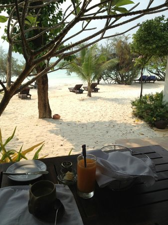 Paradee Resort & Spa Hotel: From my breakfast area