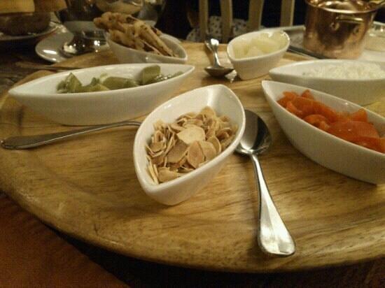 Poker d'As Le :                   Accompagnement du poulet au curry, il y a du choix !