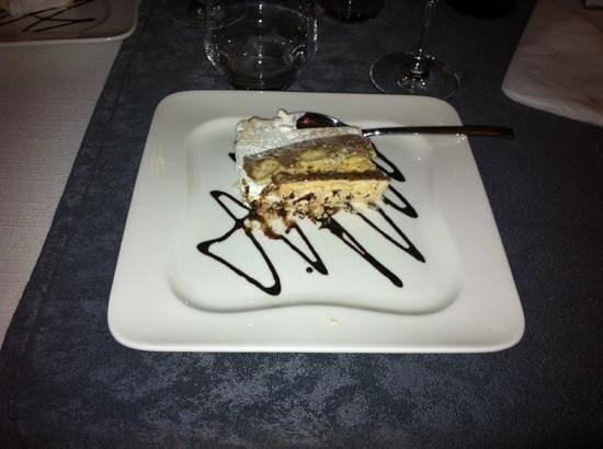 Aux Pays de l'Est :                                     gâteau crémeux goût kinder