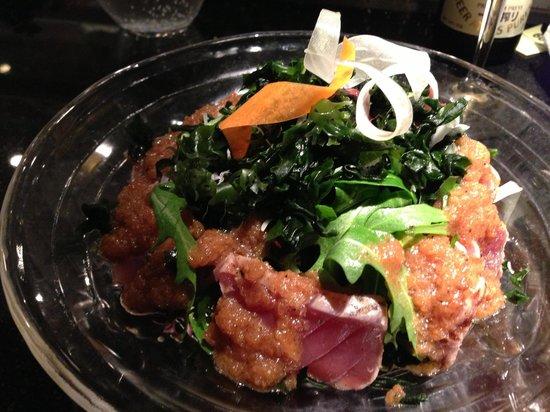 Kinugawa Vendôme :                   マグロのサラダ