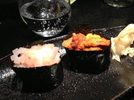Kinugawa Vendôme :                   sushi 2