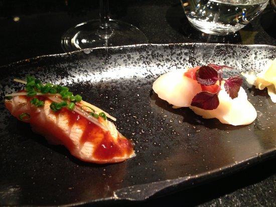 Kinugawa Vendôme :                   sushi 3