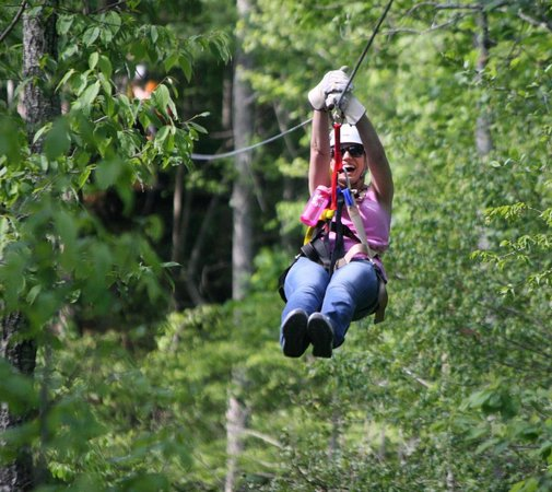 ‪Zipline Canopy Tours of Blue Ridge‬