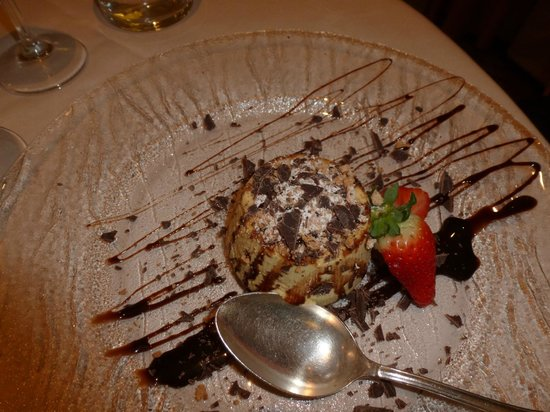 National Hotel: Il dolce!