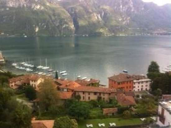 Hotel Bellagio:                   View overlooking Lake Como