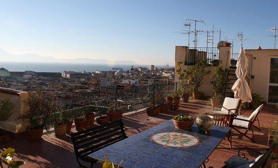 The terrace of Casa Chiara