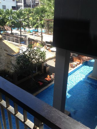 Baan Laimai Beach Resort:                   View from balcony