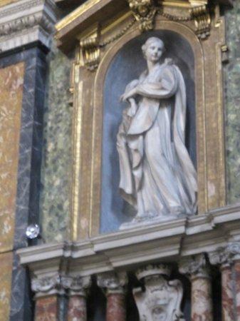 Chiesa di Gesu e Maria:                                                       Angel in niche