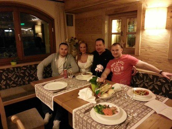 Hotel Vedig :                   Dinner ;)