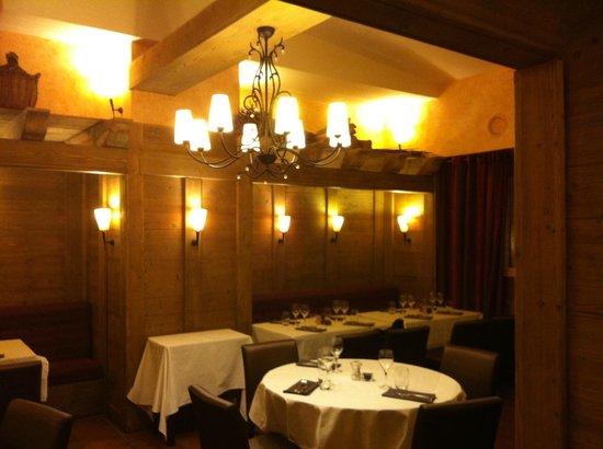 le Grain de Sel : salle de restaurant