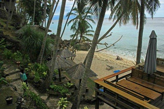 Freddies Santai Sumurtiga:                   view from restaurant