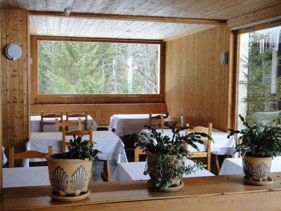 Hotel Les Lans :                                     Hotel Le Lans Dining room