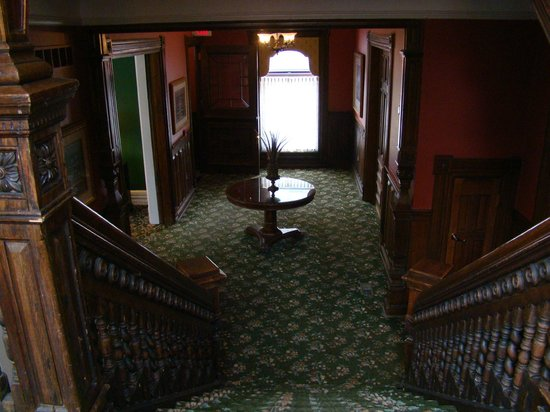 The Inn on Ferry Street:                   Front Hallway Owen House